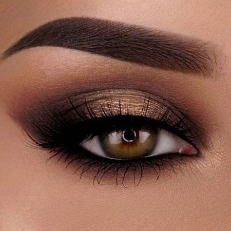 سایه برای چشم قهوه ای,زیباتری شدن آرایش