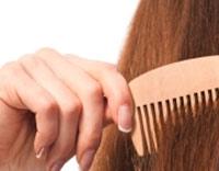 موهای شانه نشونده,شانه کردن موهای سر,شکستن مو