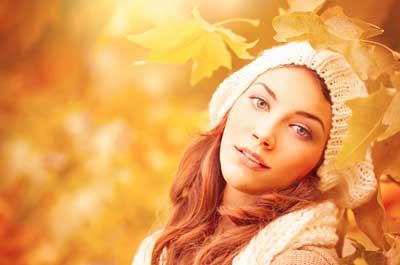 مدل رنگ مو برای پاییز