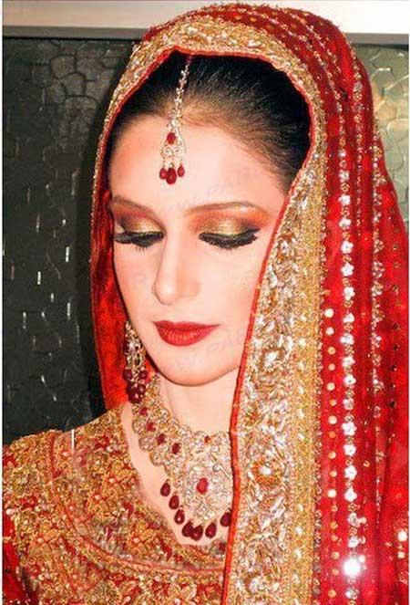 عکس ارایش عروس های هندی