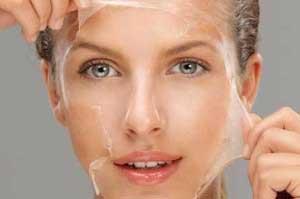 لایه برداری,تمیز کردن پوست