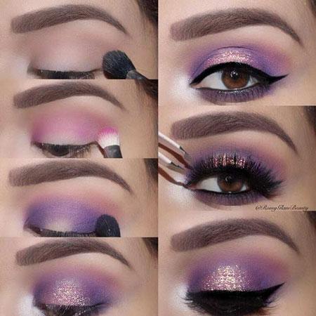 آرایش چشم,زیباترین مدل های آرایش چشم