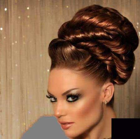 جدیدترین مدل موی عروس ۲۰۱۴