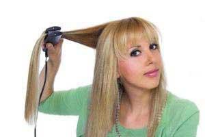 اتوی مو ,اتو کشیدن موها,محافظت از موها
