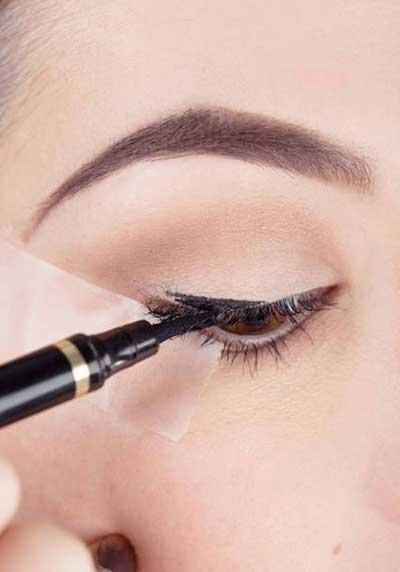 آرایش 1395, آرایش چشم 2016, آموزش کشیدن خط چشم 95