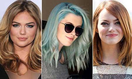 بلوند عسلی, رنگ مو, رنگ موهای فانتزی