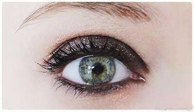 آرایش, آرایش چشم, آرایش چشم دودی