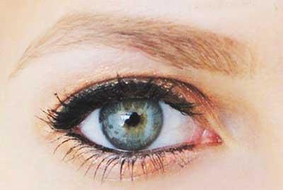 آرایش 95,آرایش طلایی 2016,آرایش چشم 1395