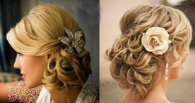 آرایش مو,آرایش موی عروس ,مدلهای آرایش مو