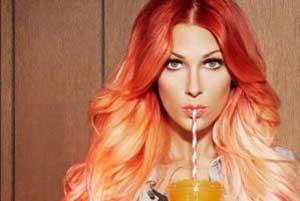 رنگ موها, رنگ موهای تابستانه, دکلره کردن