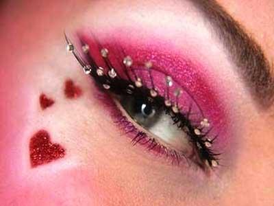ترکیب سایه ی صورتی, مدل سایه, سایه های صورتی ملایم, آرایش خیره کننده, سایه های صورتی, آرایش چشم صورتی,آرایش چشم, سایه ی چشم منحصر به فرد