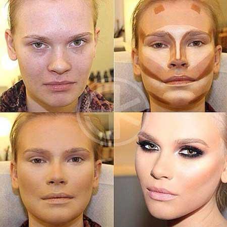 آموزش خودآرایی,تکنیک های گریم,آموزش گریم صورت