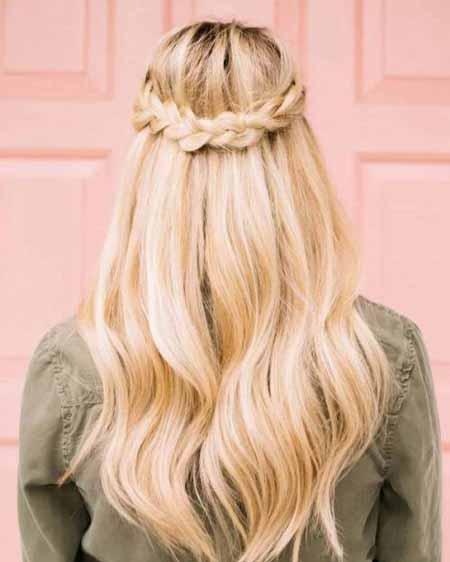 آموزش مدل بافت موی دم اسبی فرنچی