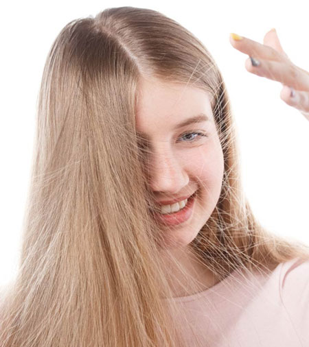 پرواز موها ,فریز شدن موها,خشکی مو