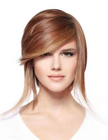مدل مو و رنگ مو دخترونه 2017|مدل مو و رنگ مو 96