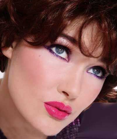 مدل آرایش صورت نامزدی,آرایش چشم,جدیدترین مدل آرایش