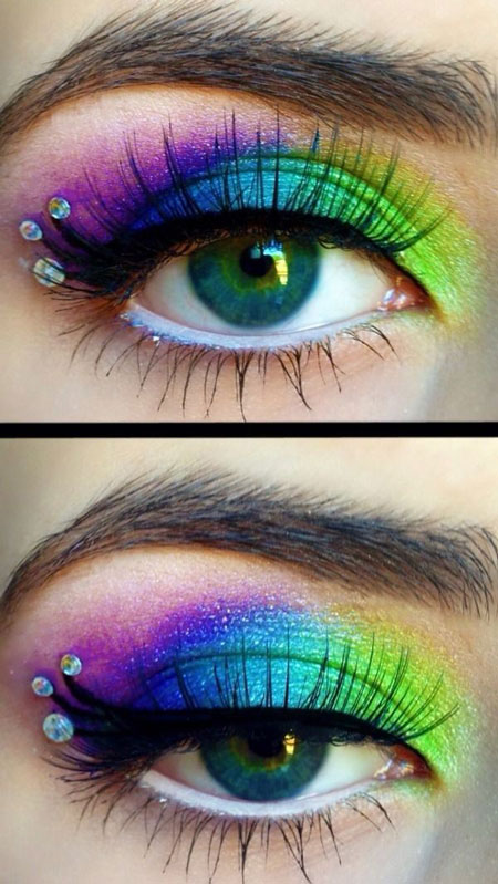 آرایش چشم,زیباترین آرایش چشم,تصاویرآرایش چشم