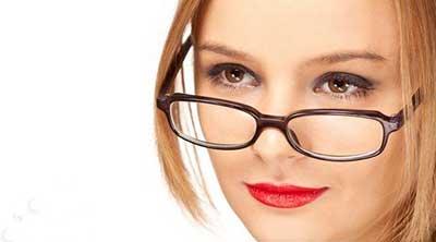 از بین بردن جای لک عینک,لک عینک