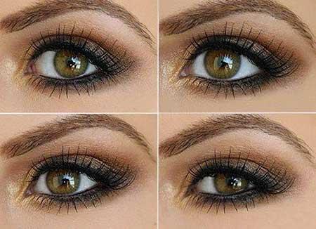آرایش چشم,آرایش چشم جدید ,آرایش شب