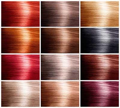 رنگ کردن موها,رنگهای طبیعی,رنگهای شیمیایی