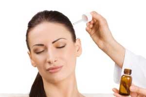 تقویت مو نازک شده