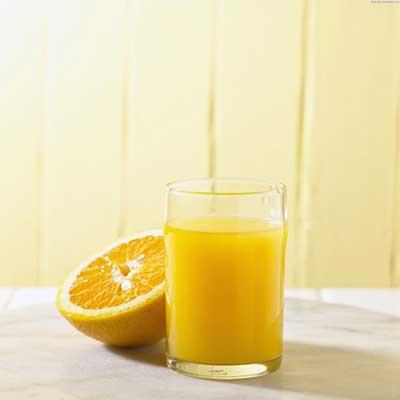 بدون آرایش، آرایش کردن، آب پرتقال