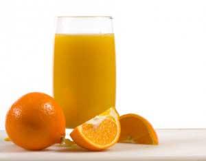 آب پرتقال برای تقویت مو