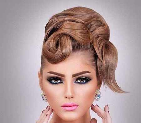 Image result for مدل آرایش صورت عروس