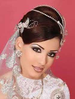 آرایش روز عروسی, عروس زیبا, باید و نبایدهای آرایش روز عروسی, آرایش چهره عروس, آرایش عروس, عکس های عروسی عجیب, مدل موی روز عروسی