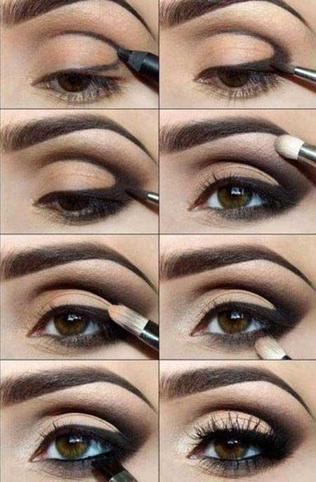 آرایش مناسب فرم های مختلف چشم