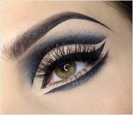 البوم تصاویر متفاوت و زیبا از مدل آرایش چشم
