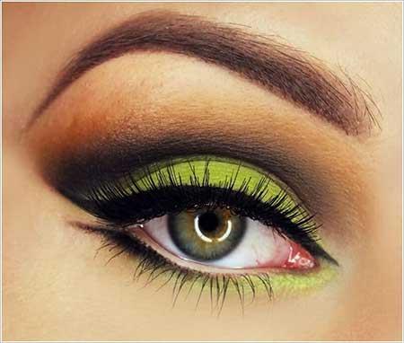 چند عکس جدید از مدل آرایش ترکیبی چشم