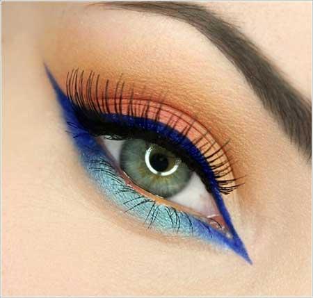 گالری عکس های جالب از آرایش چشم زیبا