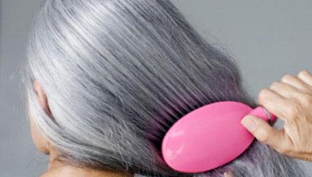 بالا رفتن قدرت جذب موی سفید, رنگ مو