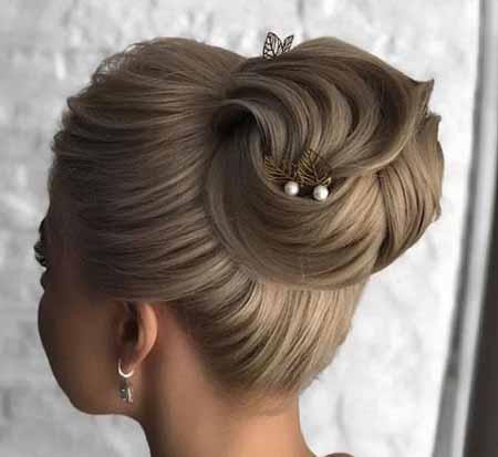 مدلهای شینیون موی زنانه