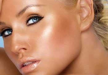 محصولات برنزهکننده پوست