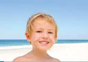 مراقبت های تابستانی از پوست کودکان