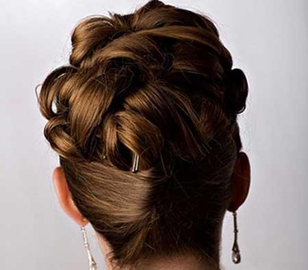 مدل ساده و زیبای مو