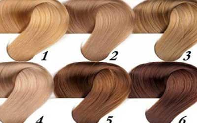رنگ موهای طبیعی
