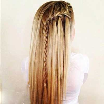 بافت مو بلند
