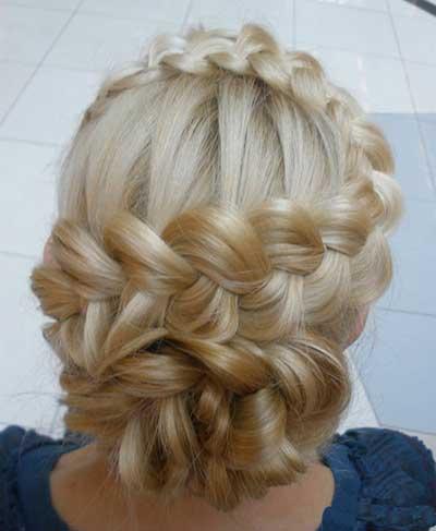 زیباترین مدل موهای بافته شده