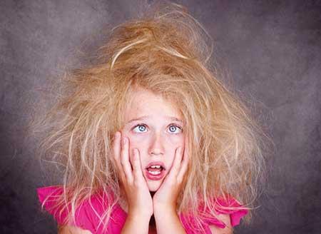 ترمیم موهای وز شده