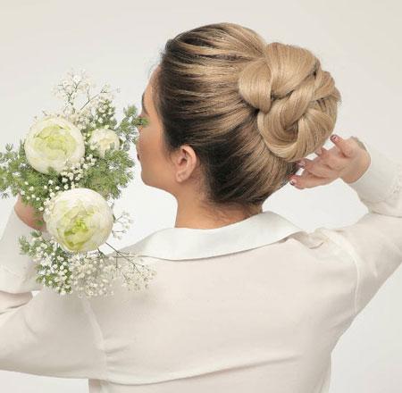 جدیدترین مدل شینیون عروس