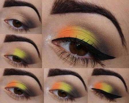 آموزش صحیح آرایش چشم مخصوص فصل پاییز و زمستان