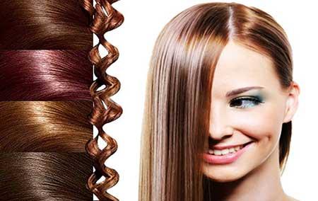 رنگ مو با مواد طبیعی