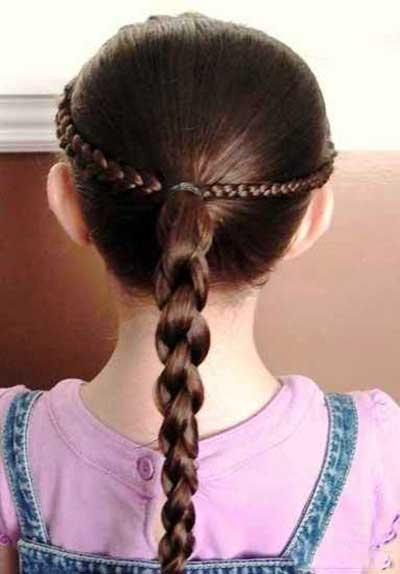 مدل موی دختران خردسال