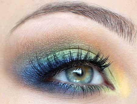 جدیدترین آرایش چشم جذاب و زیبا