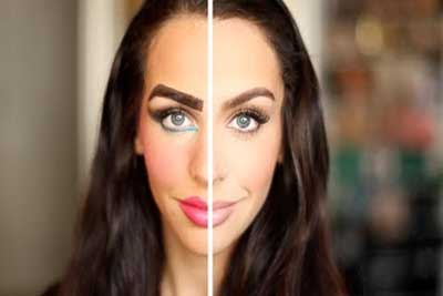 این آرایش ها صورت تان را زشت می کند، مراقب باشید!