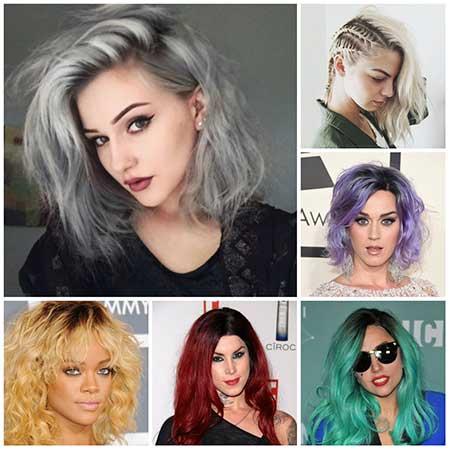 مدل های رنگ مو سال 2017