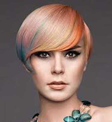 قشنگ ترین وزیباترین رنگ مو و هایلایت های جدید و زیبای سال